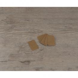 PROMO de -40% sur Etiquettes petites rectangles kraftOK Cook and Gift