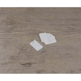 PROMO de -80% sur Etiquettes petites rectangles blanchesOK Cook and Gift