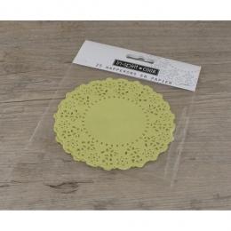 PROMO de -50% sur Napperons jaunes Cook and Gift