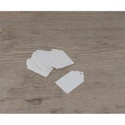 PROMO de -80% sur Etiquettes petits tags blanchesOK Cook and Gift