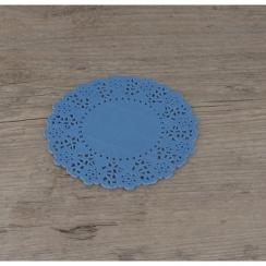 Napperons bleu jean