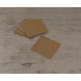 PROMO de -50% sur Etiquettes grands carrés kraftOK Cook and Gift