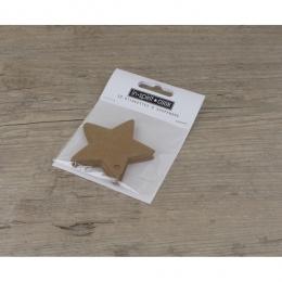 Etiquettes étoiles blanches