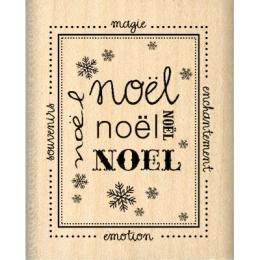 Commandez Tampon bois TIMBRE DE NOËL Florilèges Design. Livraison rapide et cadeau dans chaque commande.