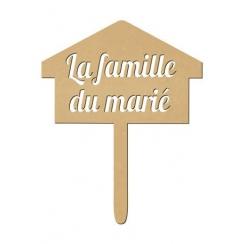 Photobooth Panneau La Famille du marié