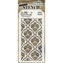 Pochoir HOLIDAY KNIT Tim Holtz