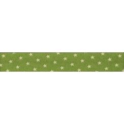 PROMO de -50% sur Lot de Biais Frou-Frou Collection Jardin d'oliviers à étoiles vert clair Paritys