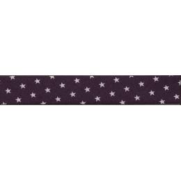 Biais Frou-Frou Collection Prune délicate à étoiles violet clair