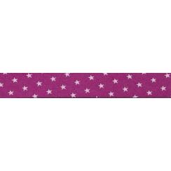 PROMO de -70% sur Lot de Biais Frou-Frou Collection Camélia à étoiles rose clair Paritys