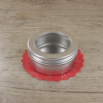 Petite boite ronde en métal