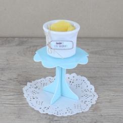 PROMO de -50% sur Mini présentoirs à cupcake bleus Cook and Gift
