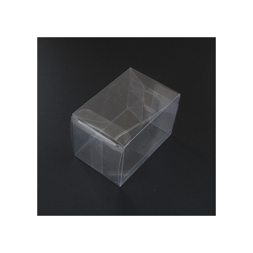 PROMO de -80% sur Boites cristal A 7x7x12 cmOK Cook and Gift