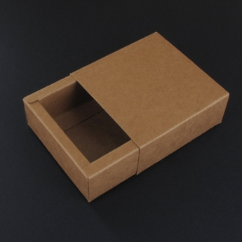Boites carton rectangle kraft