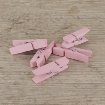 Petites pinces à linge roses