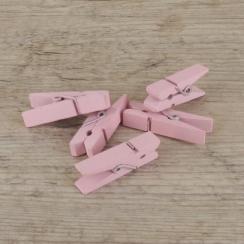 PROMO de -60% sur Petites pinces à linge roses