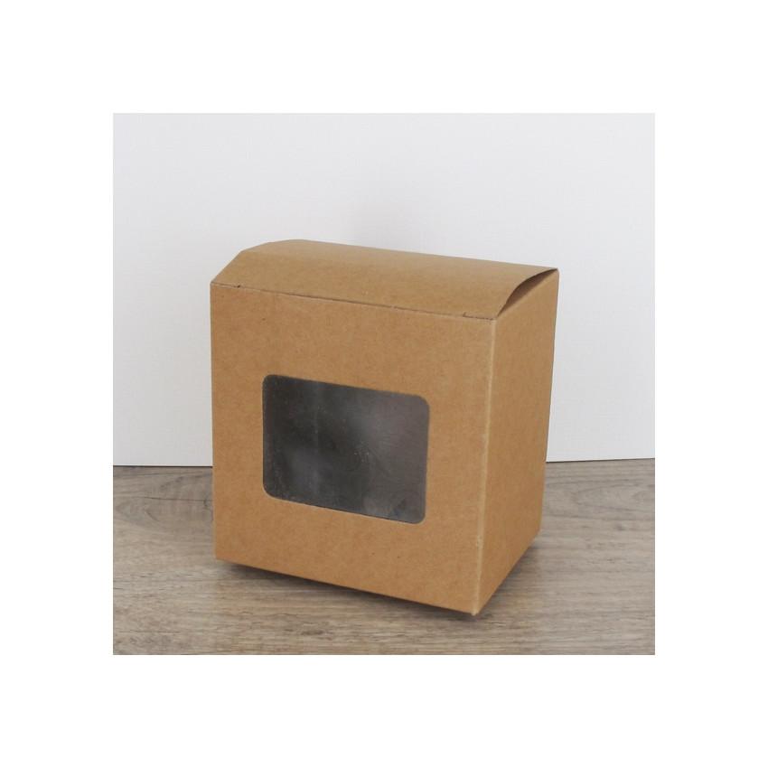 Petites boites carton à fenêtre
