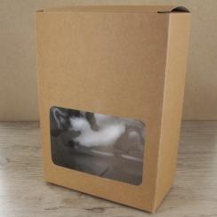 Grandes boites carton à fenêtre par . Scrapbooking et loisirs créatifs. Livraison rapide et cadeau dans chaque commande.