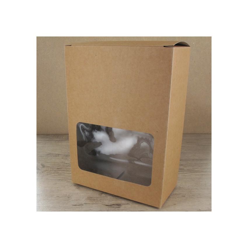 PROMO de -70% sur Grandes boites carton à fenêtreOK Cook and Gift