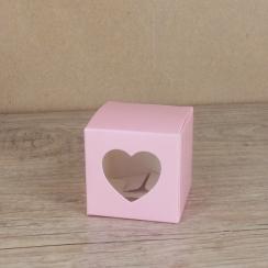 5 Petites boites roses à coeur par . Scrapbooking et loisirs créatifs. Livraison rapide et cadeau dans chaque commande.