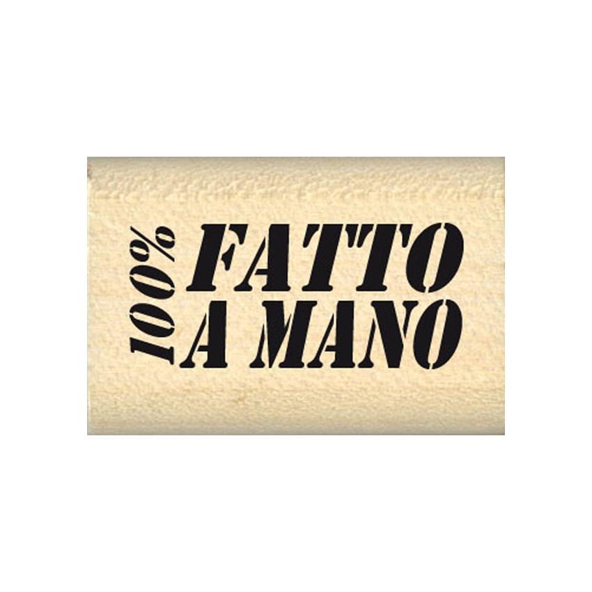 100% FATTO A MANO