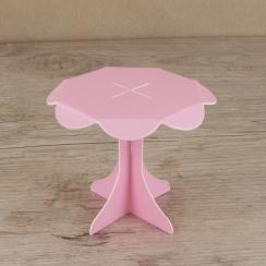 Mini présentoirs à cupcake roses par . Scrapbooking et loisirs créatifs. Livraison rapide et cadeau dans chaque commande.