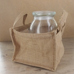 PROMO de -60% sur Sac en jute carré Cook and Gift