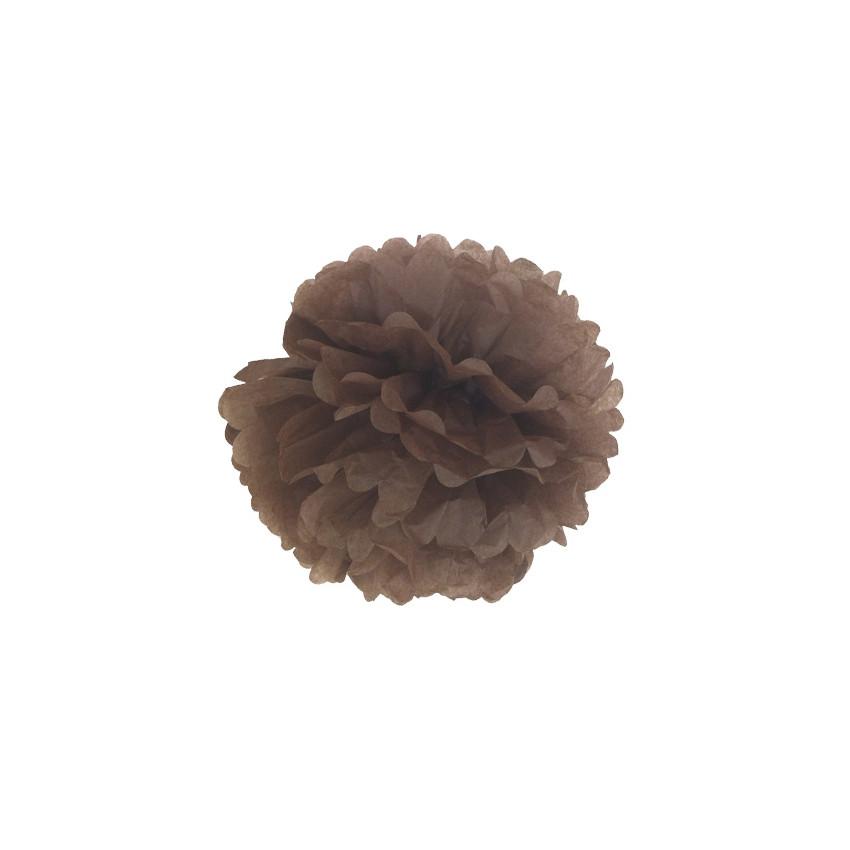 PROMO de -50% sur Pompon 30 cm chocolat Cook and Gift