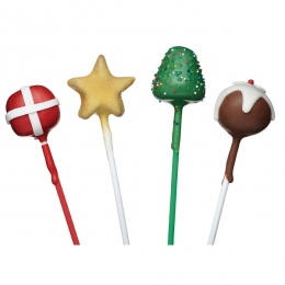 PROMO de -60% sur Moule cake pop de noël Kitchen Crafts