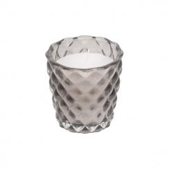PROMO de -50% sur Bougie en verre gris Chic Antique