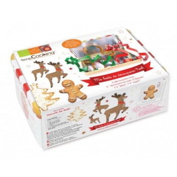 Boîte nécessaire biscuits de Noël
