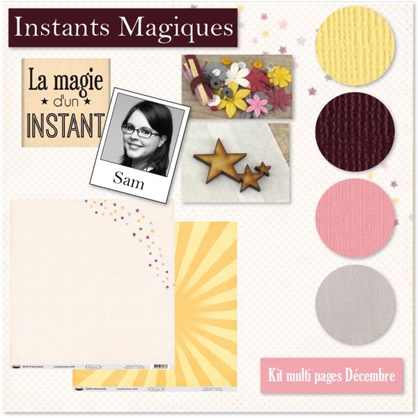 KIT MULTI PAGES DECEMBRE 2014 Instants Magiques