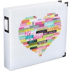 Parfait pour créer : Classeur WORD HEART par American Crafts. Livraison rapide et cadeau dans chaque commande.