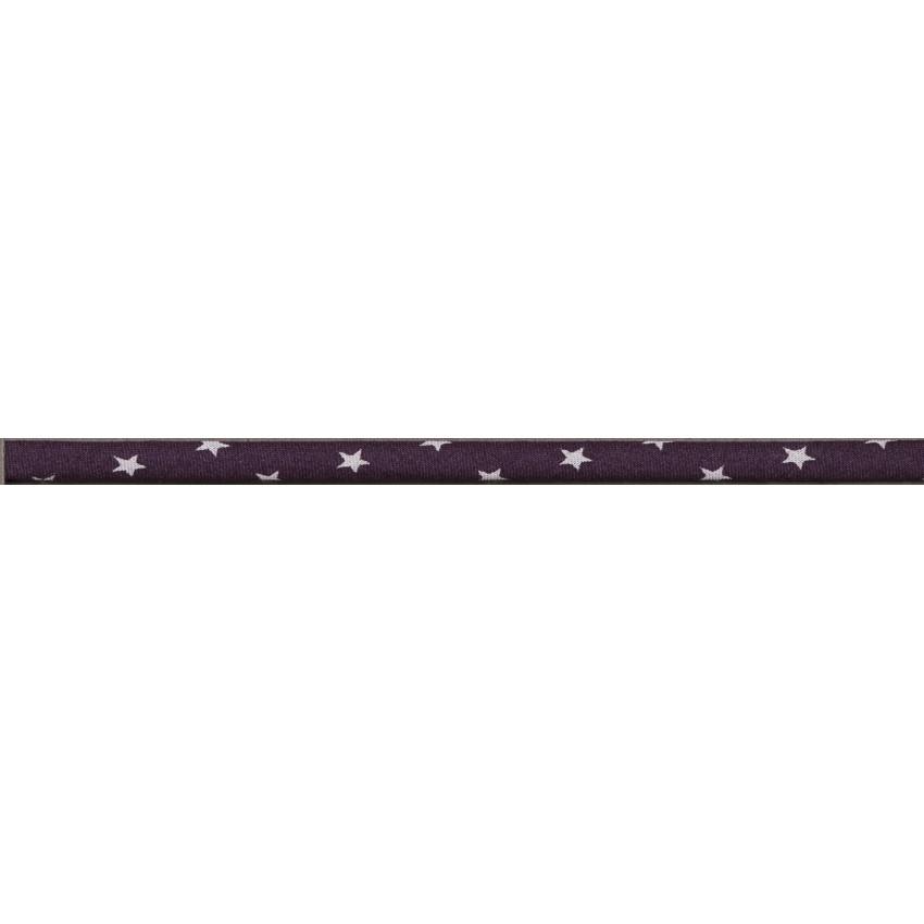 Lot de Spaghetti Frou-Frou Collection Prune délicate à étoiles violet clair par Paritys. Scrapbooking et loisirs créatifs. Li...