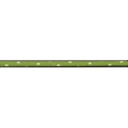 Spaghetti Frou-Frou Collection Jardin d'oliviers à étoiles vert clair