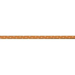 Spaghetti Frou-Frou Collection Douceur mandarine à pois orange clair