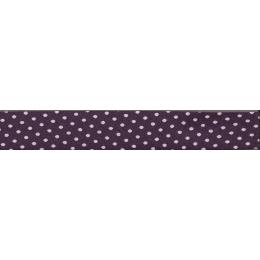 PROMO de -70% sur Lot de Biais Frou-Frou Collection Prune délicate à pois violet clair Paritys