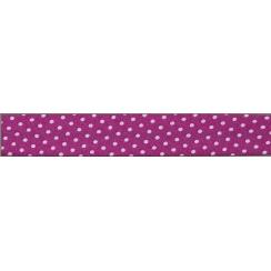 Lot de Biais Frou-Frou Collection Camélia à pois rose clair par Paritys. Scrapbooking et loisirs créatifs. Livraison rapide e...