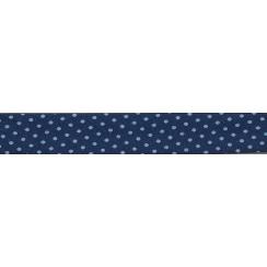 Lot de Biais Frou-Frou Collection Bleu intense à pois bleu clair par Paritys. Scrapbooking et loisirs créatifs. Livraison rap...