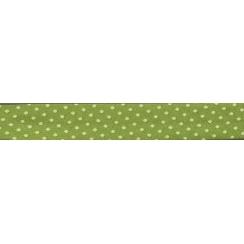 PROMO de -70% sur Lot de Biais Frou-Frou Collection Jardin d'oliviers à pois vert clair Paritys