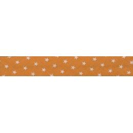 Lot de Biais Frou-Frou Collection Douceur mandarine à étoiles orange clair par Paritys. Scrapbooking et loisirs créatifs. Liv...