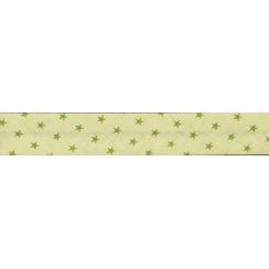 Lot de Biais Frou-Frou Collection Jardin d'oliviers à étoiles vert foncé par Paritys. Scrapbooking et loisirs créatifs. Livra...
