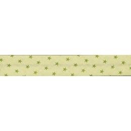 PROMO de -70% sur Lot de Biais Frou-Frou Collection Jardin d'oliviers à étoiles vert foncé Paritys