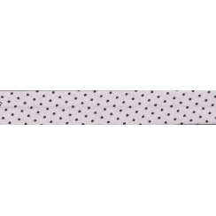 Lot de Biais Frou-Frou Collection Prune délicate à pois violet foncé par Paritys. Scrapbooking et loisirs créatifs. Livraison...
