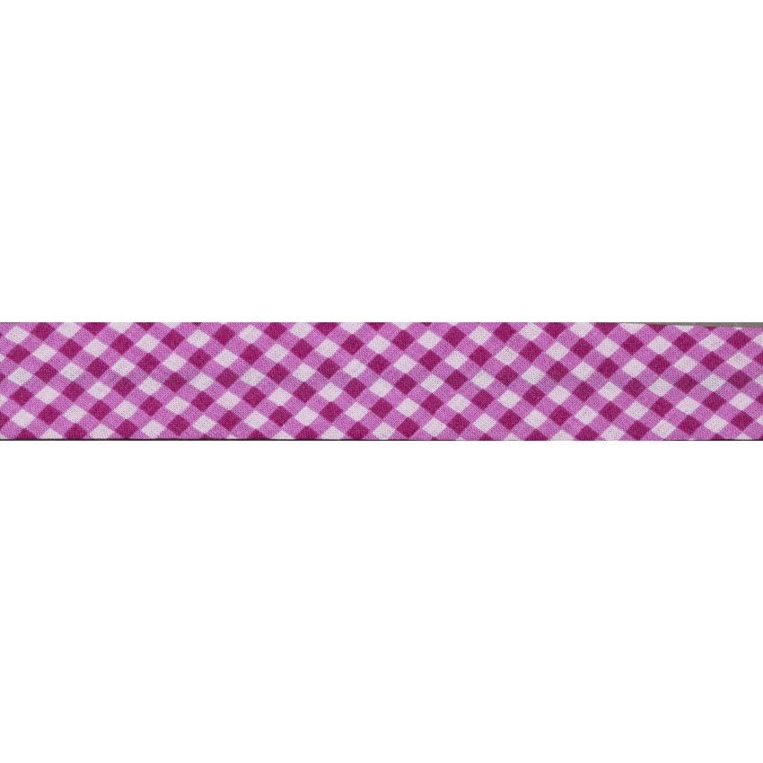 Lot de Biais Frou-Frou Collection Camélia Vichy rose par Paritys. Scrapbooking et loisirs créatifs. Livraison rapide et cadea...