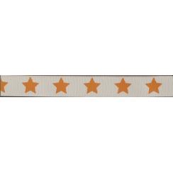 Ruban Frou-Frou gros grain Douceur mandarine à étoiles orange foncé par Paritys. Scrapbooking et loisirs créatifs. Livraison ...
