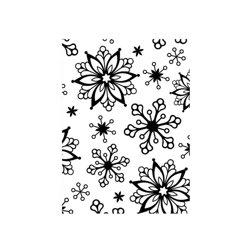 Plaque de gaufrage SNOWFLAKES