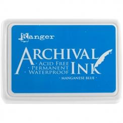Encre Archival MANGANESE BLUE par Ranger. Scrapbooking et loisirs créatifs. Livraison rapide et cadeau dans chaque commande.