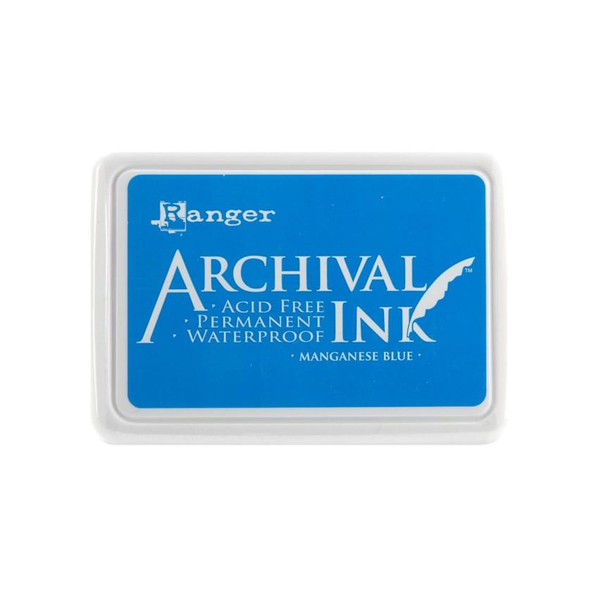 Commandez Encre Archival MANGANESE BLUE Ranger. Livraison rapide et cadeau dans chaque commande.