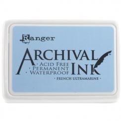 Parfait pour créer : Encre Archival FRENCH ULTRAMARINE par Ranger. Livraison rapide et cadeau dans chaque commande.