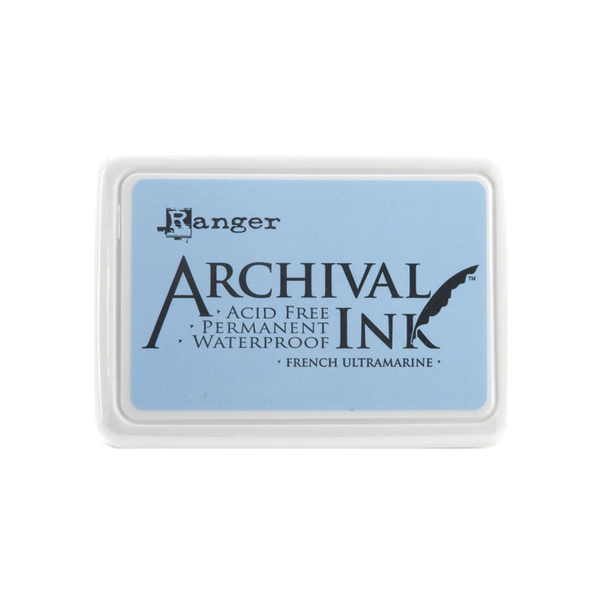Encre Archival FRENCH ULTRAMARINE